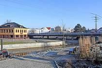 Současná podoba městské tržnice v centru Valašského Meziříčí.