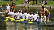 V sobotu 28. července 2018 se uskutečnil 9. ročník kelečského poháru dračích lodí na tybníku Chmelník. O titul bojovalo na dvou set metrové trati devět posádek. Prvenství získali borci z týmu Nas Ne Dogonyat.