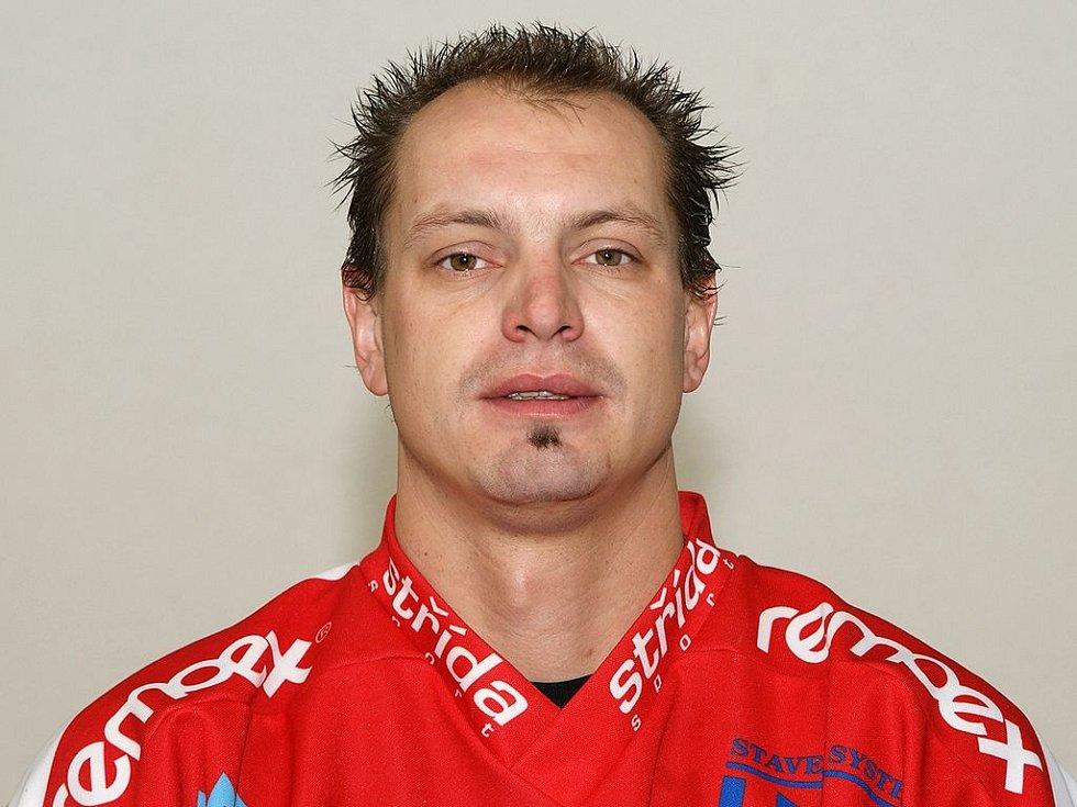 Michal Šafařík v dresu Chrudimi v sezoně 2008/09
