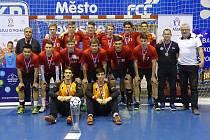 Vítězný tým Rožnova pod Radhoštěm.