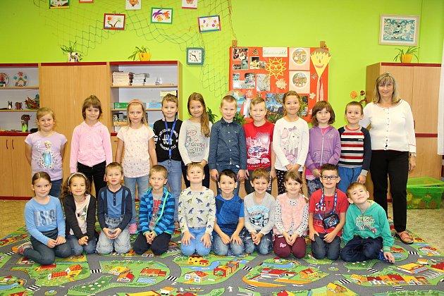 ZŠ 5.května Rožnov pod Radhoštěm, 1.C, třídní učitelka Helena Fojtášková