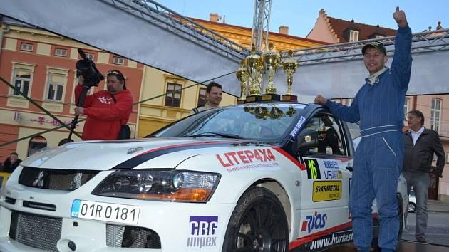 Posádka JP Motorsport teamu Pešl – Pešek na Valašské rally dojela třetí ve své třídě P2+.
