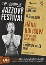Plakát k 25. ročníku Vsetínského jazzového festivalu.