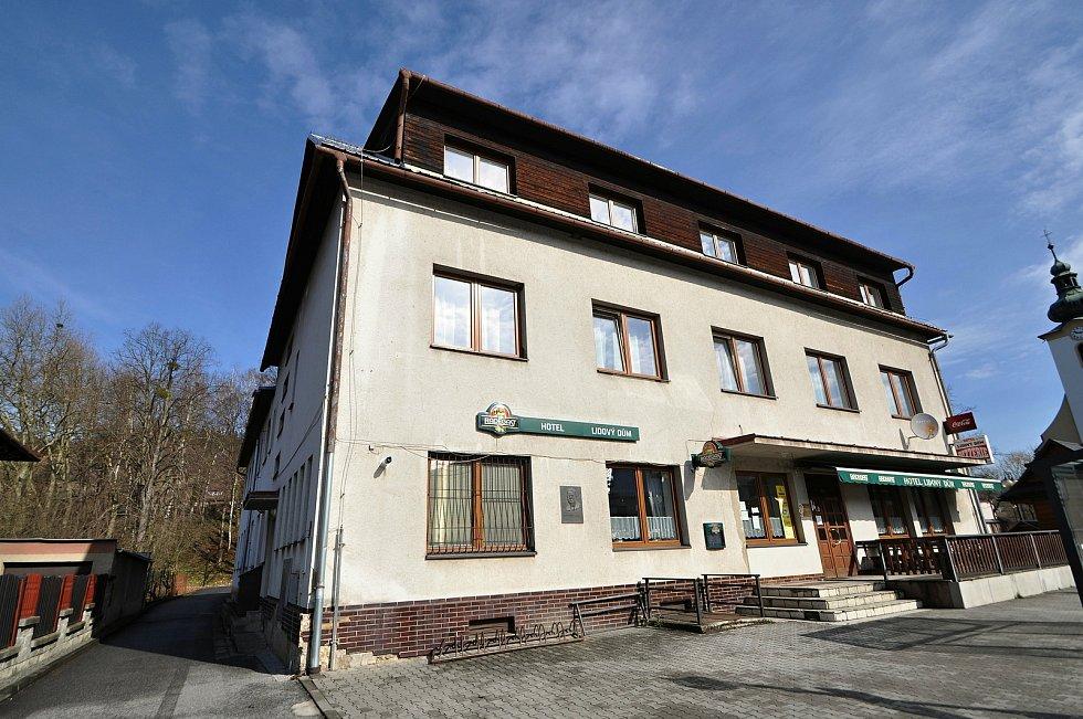 Nový Hrozenkov - hotel Lidový dům.