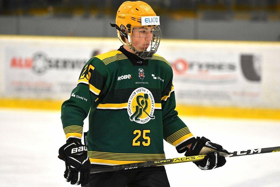 Šikovný obránce ještě v uplynulé sezoně působil v dorosteneckém týmu Vsetína.