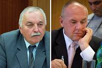 Jaromír Kudlík (vlevo) a Stanislav Pavelec opět společnou řeč nenašli.