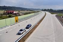 Silnice I/35 u Valašského Meziříčí