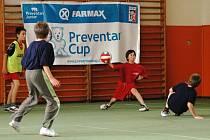Na krajském kole v tělocvičně ZŠ Masarykova ve Valašském Meziříčí se utkaly celkem čtyři týmy a sehrály šest utkání.