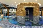 Bazény v hotelu Panorama.