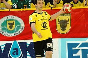 Házenkář Gumáren Zubří Martin Stržínek.