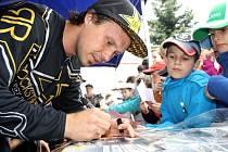Na závod do Branek přijede i mistr světa ve freestyle motokrosu Libor Podmol.