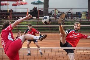 nohejbalový zápas Vsetín - Modřice