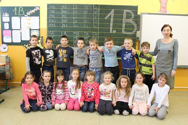 ZŠ Videčská, 1.B, třídní učitelka: Ivana Besedová