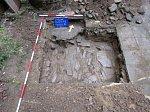 Archeologický průzkum dvora bývalého kláštera v Zašové.