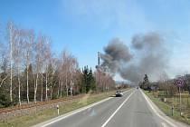 Požár vzduchotechniky způsobil milionové škody
