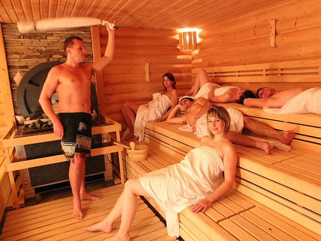 Saunový rituál ve wellness hotelu Horal.
