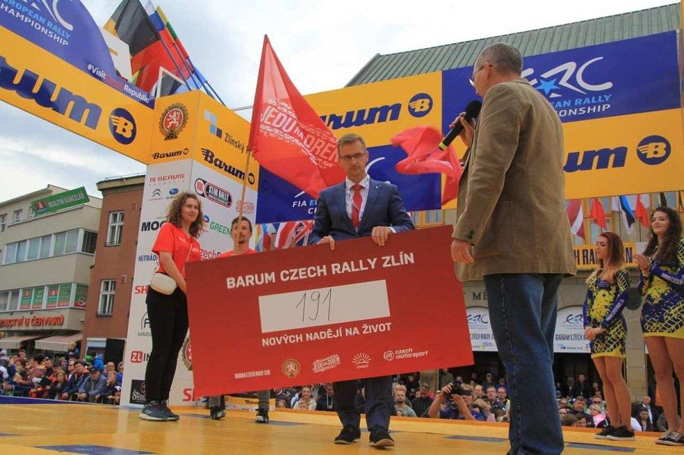 50. ročník populární Barum Czech Rally Zlín, srpen 2021.