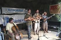 V areálu informačního centra v Pulčíně se v pátek a v sobotu konal 15. ročník hudebního festivalu Amfolkfest