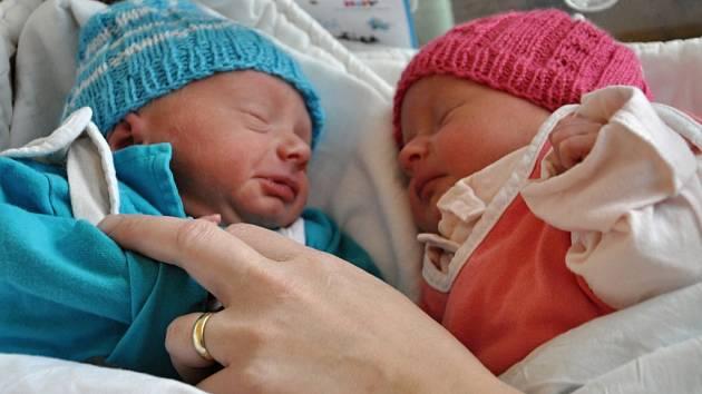 Jedenáctého listopadu 2015 krátce před 22. hodinou se ve Vsetínské nemocnici při sedmistém letošním porodu narodila dvojčata Eliáš Josef a Miriam Marta.