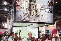 Město Rožnov se na rakouském veletrhu prezentovalo ve stánku Východní Moravy.
