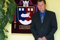Antonín Koňařík, starosta Hovězí.
