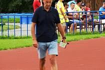 Trenér divizních fotbalistů Valašského Meziříčí Pavel Hajný.