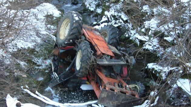 Havárie traktoru