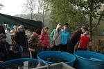 Výlov Velkého Choryňského rybníku