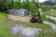 Velka voda v Huslenkách