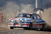 Valašská rally 2012: Martin Hrachovec.