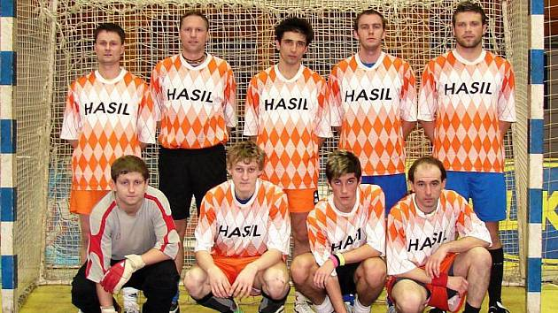 Futsalisté Amatéru Komárovice.