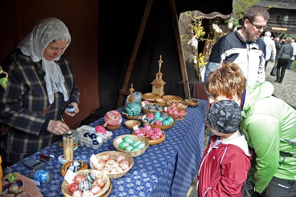 Velikonoce ve Valašském muzeu v Rožnově pod Radhoštěm