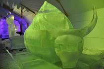 18. ročník sochařského sympozia Ledové království v Rožnově pod Radhoštěm
