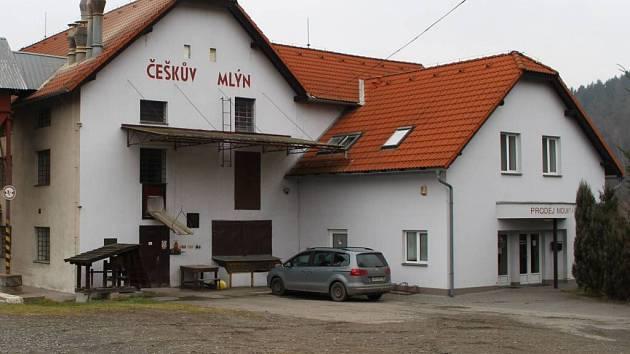 Češkův mlýn v Jarcové na Vsetínsku