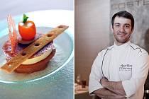 Do Velkých Karlovic se na začátku října přijede podívat Portugalec Miguel Rocha Vieira (vpravo), který pracuje jako šéfkuchař v budapešťské restauraci s michelinskou hvězdou.