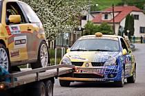 Takto skončil třetí sprint sezony vsetínský pilot Martin Kašín se svým Renaultem Clio Sport.