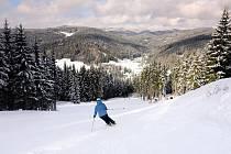 Lyžování ve Ski areálu Razula.