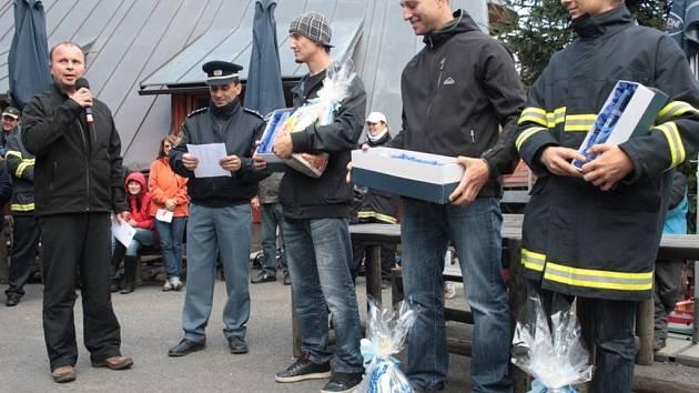 Kohútka o víkendu pohostila klání o nejtvrdšího hasiče.