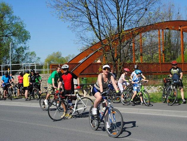 Cyklostezka Bečva. Ilustrační foto.
