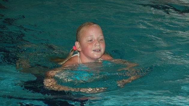 Ve Vsetíně se závodilo v plavání