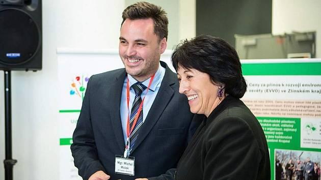 Michal Molek, ředitel ZŠ Sychrov ve Vsetíně. Ilustrační foto.