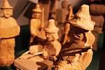 V Informačním centru Zvonice na Soláni jsou k vidění desítky betlémů. Výstava Půjdem spolu do Betléma potrvá do 29. ledna 2019.