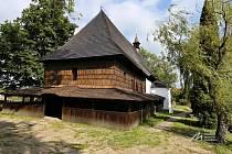 Rekonstruovaný kostel Nejsvětější Trojice ve Valašském Meziříčí.