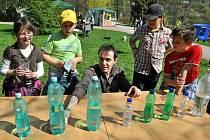 Ve vsetínské  Panské zahradě se konal tradiční Den Země. Ilustraní foto