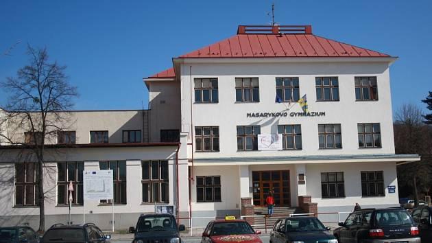 Masarykovo gymnázium ve Vsetíně. Ilustrační foto.