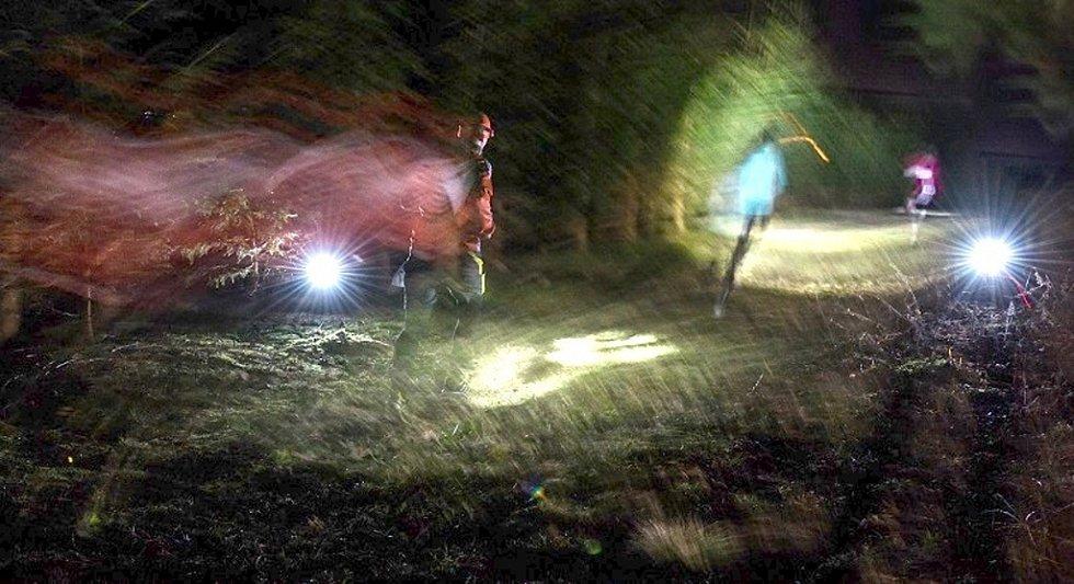 Noční stopa Valachy.