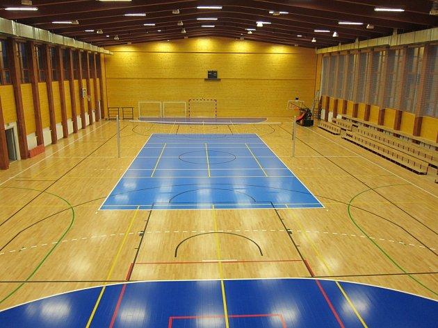 Sportovní hala Na Lapači ve Vsetíně. Ilustrační foto.