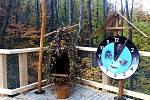 Beskydské nebe – Život v korunách stromů. Naučná stezka dlouhá 1 800 metrů, která v sobě zahrnuje expozici siluet dravců, dřevěnou lávku nad roklí potoka Vlčáku s expozicí Život v korunách stromů a dalších šest zastavení.