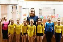 Dětský karneval sportovní gymnastiky v Sokolovně - únor 2020