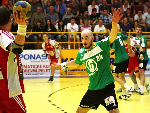 Michal Děděk v akci